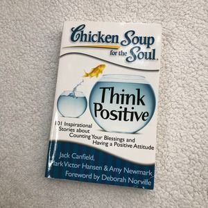 4/$25 - Chicken Soup for the Soul Think Positive